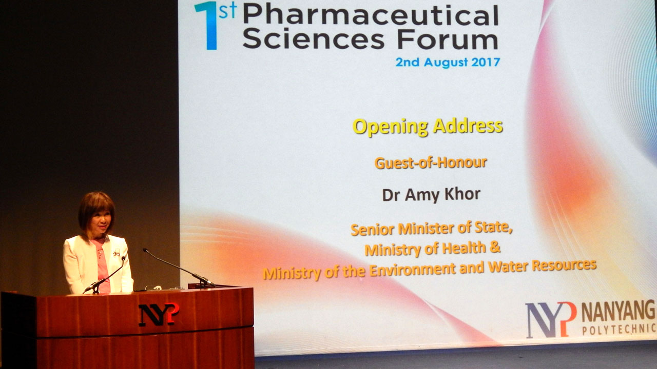 Dr Amy Khor spoke about how the role of pharmacy technicians   will expand to provide more specialised care to patients.