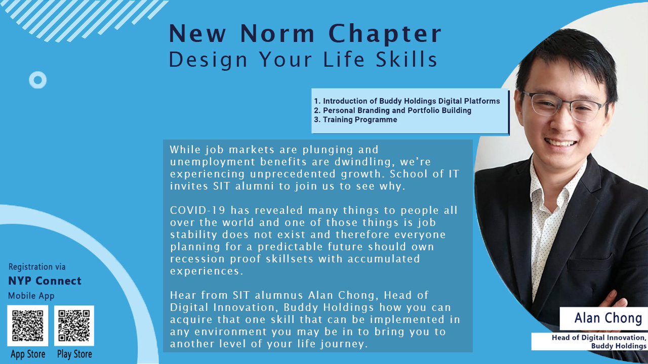 New Norm Chapter - Design Your Life Skills webinar for SIT Alumni