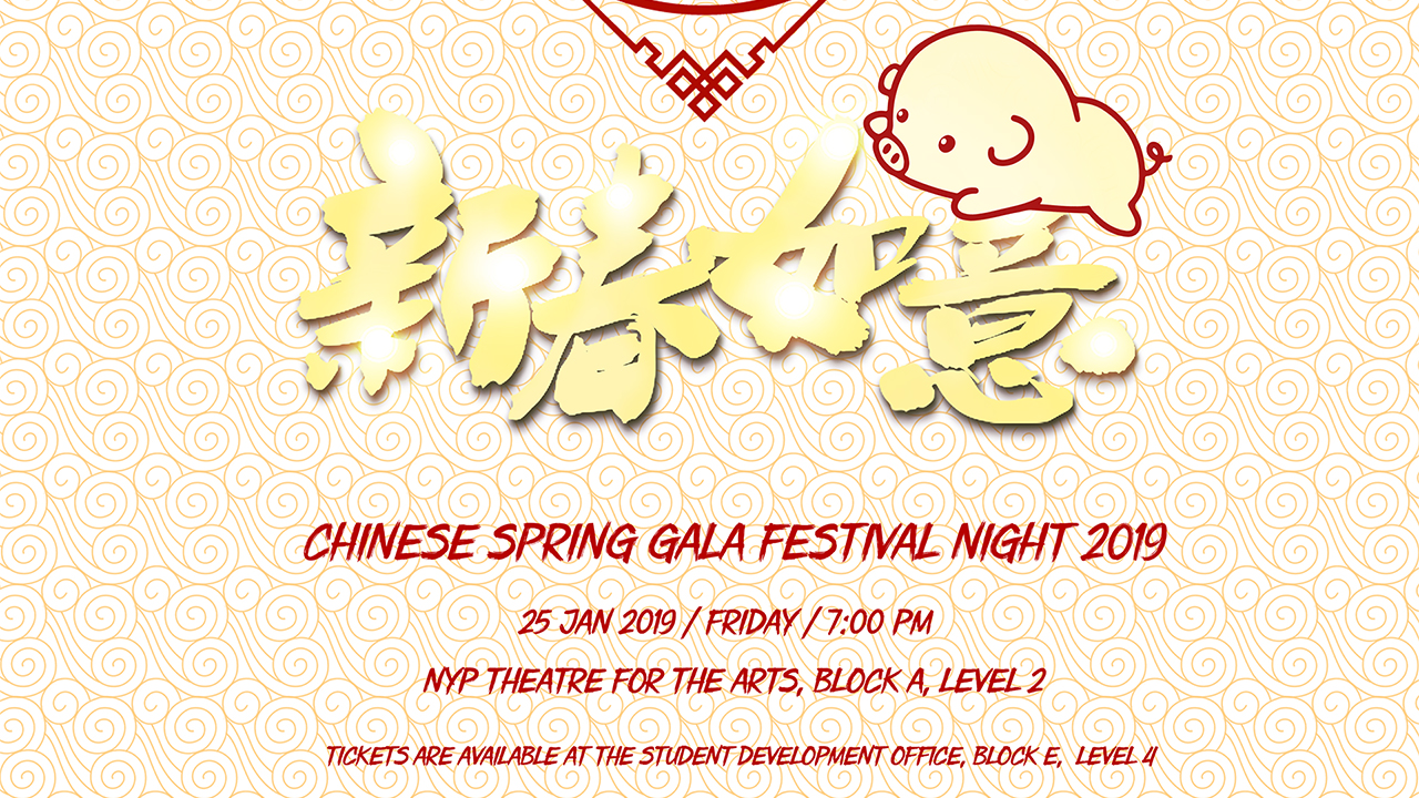 Chinese Spring Gala Festival Night