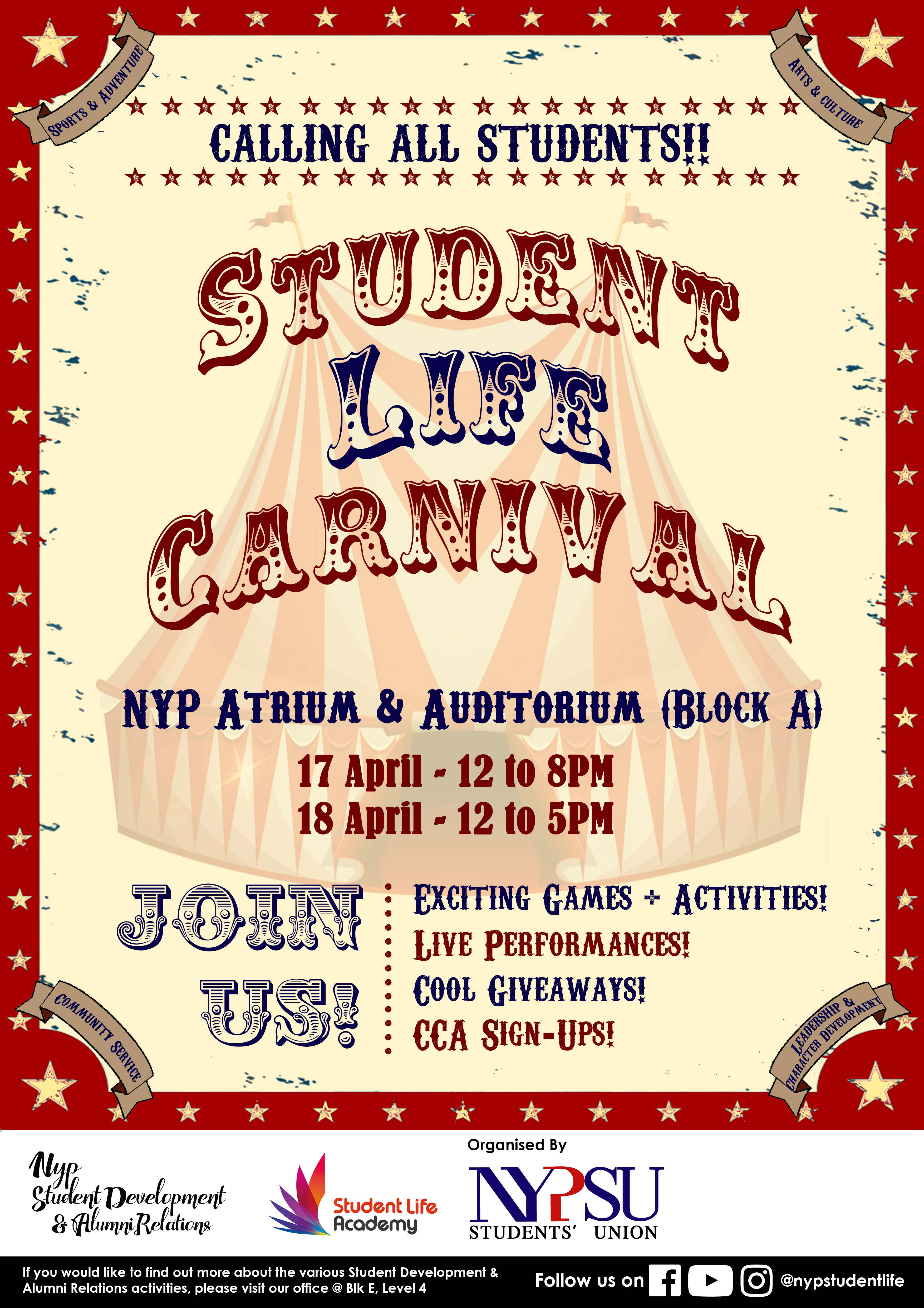 Student Life Carnival