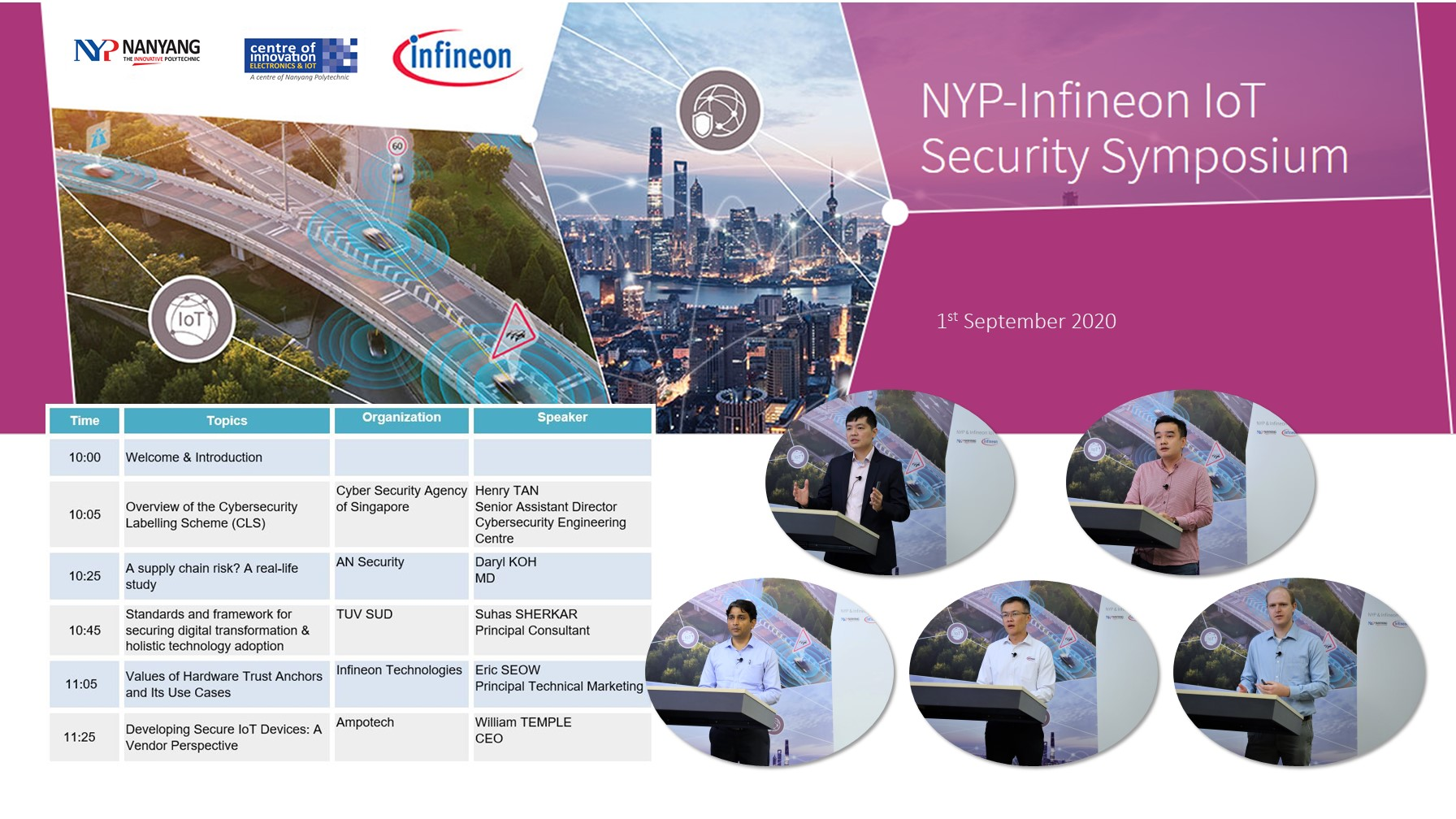 NYP-IFX IoT Security Webinar