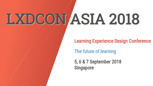 Learning Experience Design Conference Asia 2018