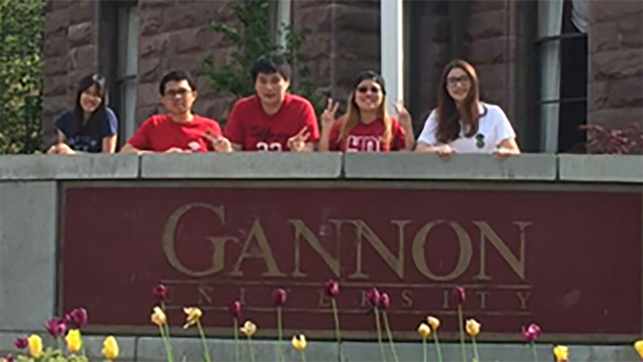 Overseas Internship at Gannon University, Erie Pennsylvania