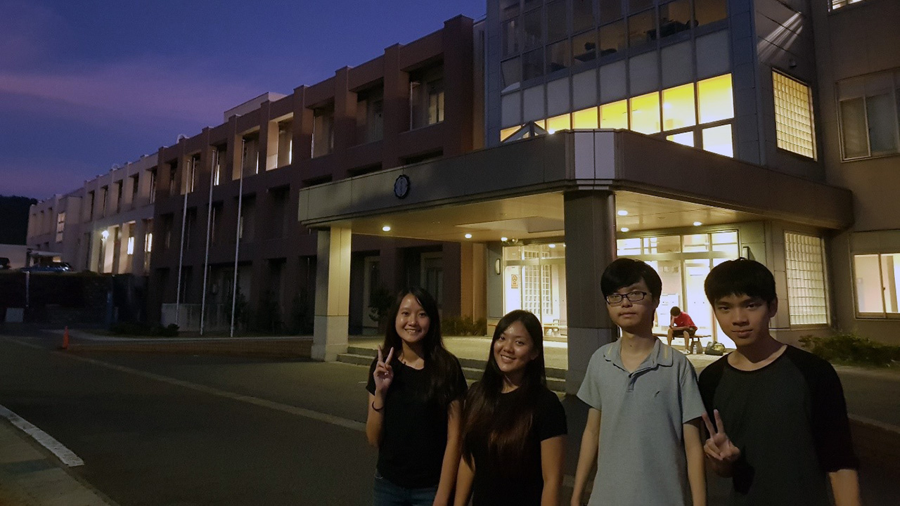 Overseas Internship at National Institute of Technology, Nagaoka College Japan