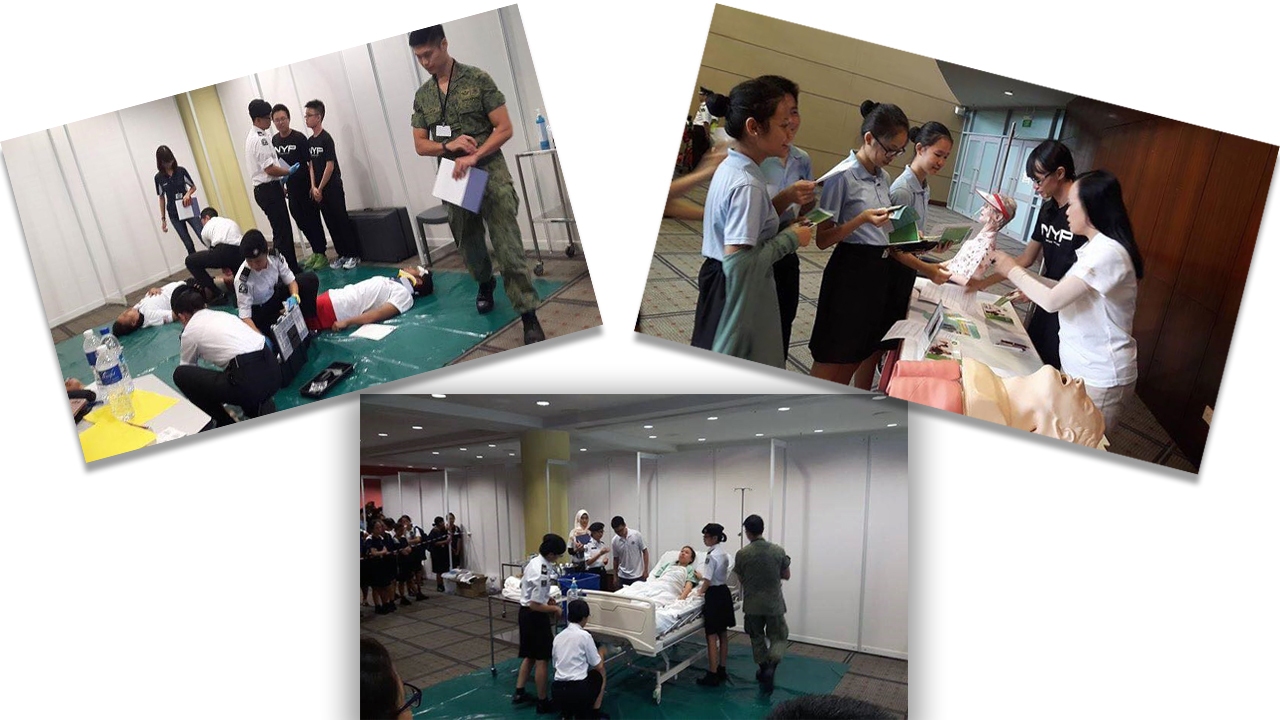 first aid home nursing competition