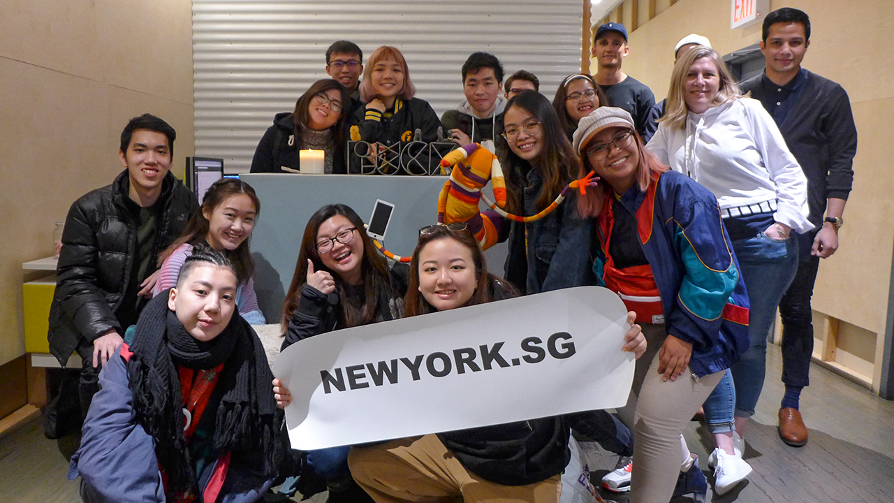 NY.SG Participants at BUCK.TV!