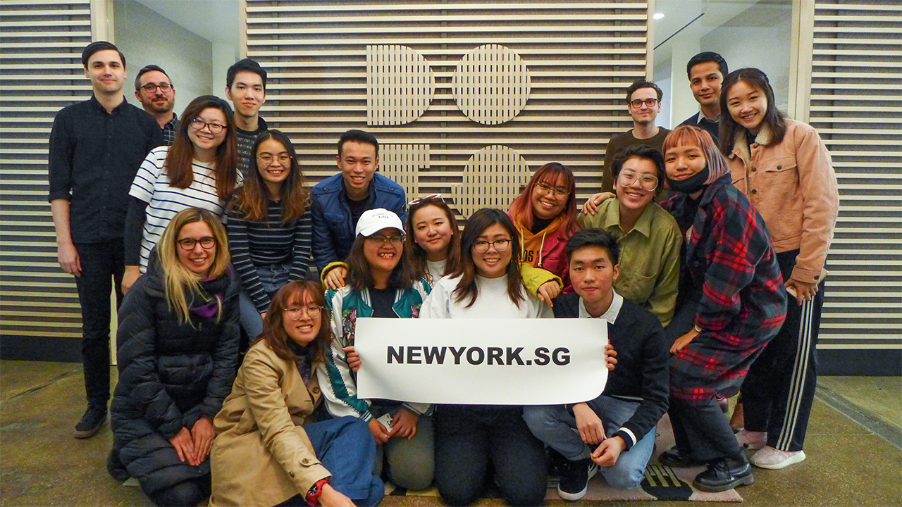 NY.SG Participants at DOTS!