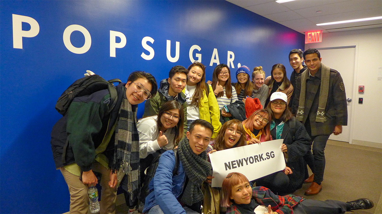 NY.SG Participants at POPSUGAR!