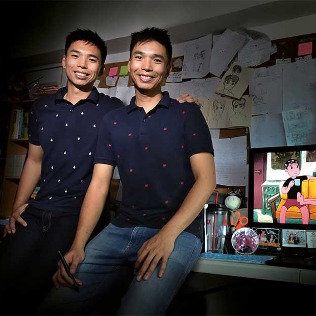 Click to see our interview with the Zhuang Brothers!
