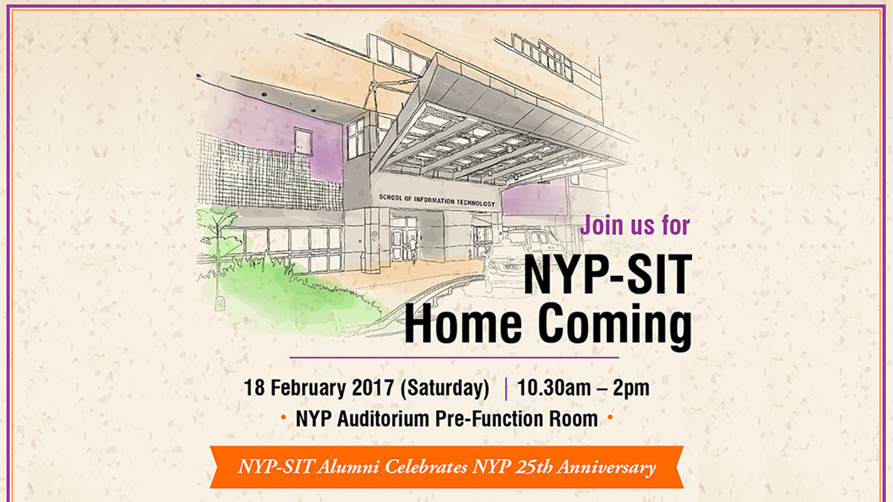 NYP-SIT Home Coming